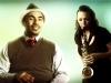 Drummer Ali Jackson and Saxophonist Erica von Kleist