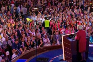 Ledbetter spoke at national political rallies and conventions