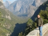 Producer Robe Imbriano enjoys some of the sights at Yosemite.