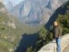 Producer Robe Imbriano enjoys some of the sights at Yosemite.